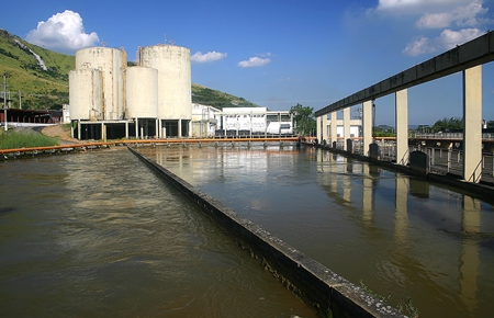 Estação de Tratamento da Água do Guandu